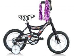 "12"" MBR Boys Bike Black ""Micargi Bicycles"""