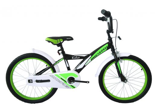 "20″ Kidco Boys Bike Black ""Micargi Bicycles"""