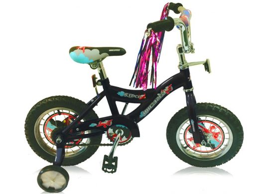 "16″ Kiddy Boys Bike Black ""Micargi Bicycles"""