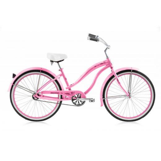 """Girls 24"""" Rover LX Aluminum Frame Pink """"Micargi Bicycles"""""""