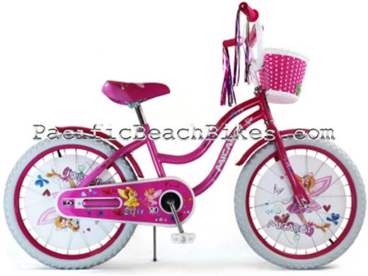 """Micargi Pink Ellie 20"""" Kids Bicycle"""