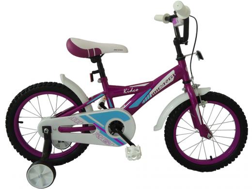 "16″ Kidco Girls Bike Purple ""Micargi Bicycles"""