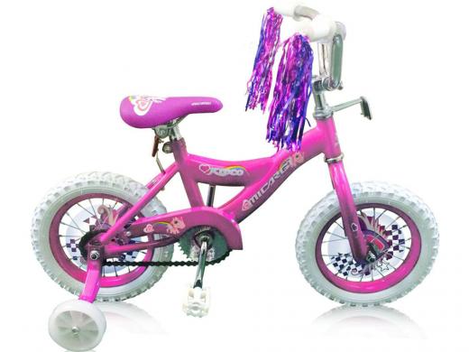 """12"""" Kidco Girls Bike 1.0 Pink """"Micargi Bicycles"""""""