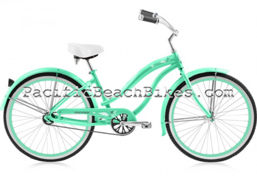 """Girls 24"""" Rover LX Aluminum Frame Mint """"Micargi Bicycles"""""""