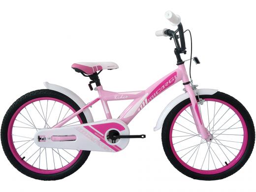 """20″ Kidco Girls Bike Pink """"Micargi Bicycles"""""""