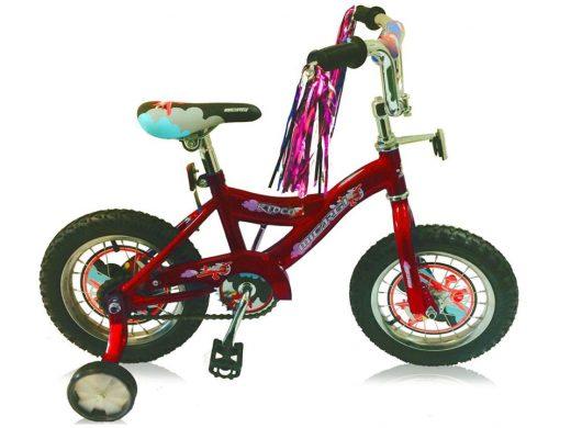 "16″ Kiddy Boys Bike Red ""Micargi Bicycles"""