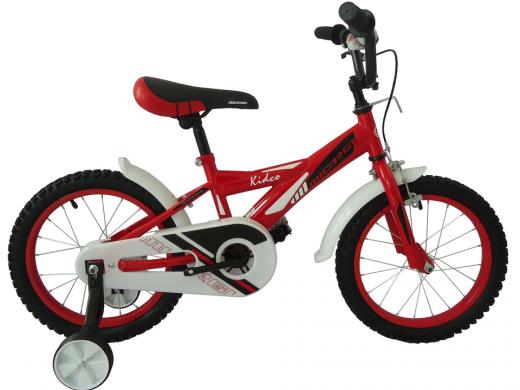 "16″ Kidco Boys Bike Red ""Micargi Bicycles"""