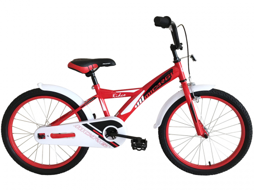 "20″ Kidco Boys Bike Red ""Micargi Bicycles"""