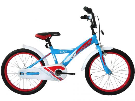 "20″ Kidco Boys Bike Sky Blue ""Micargi Bicycles"""