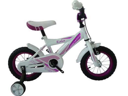 """12"""" Kidco Girls Bike White """"Micargi Bicycles"""""""