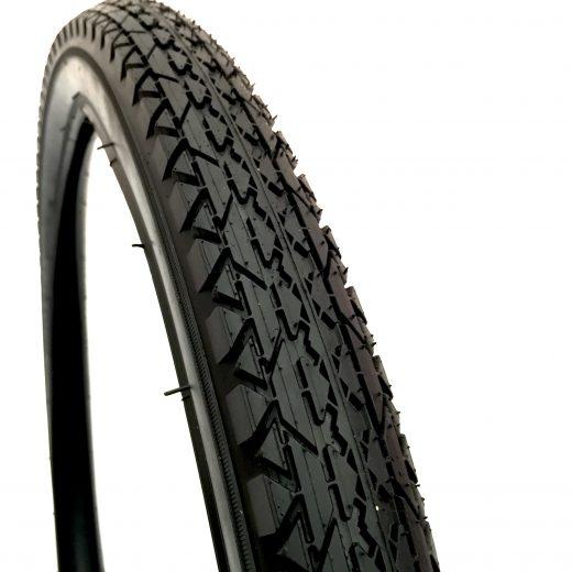 Beach Cruiser Tire Black 26x2.125 Tread Pattern