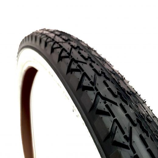 White Wall Tire 26x2.125 Tread Pattern