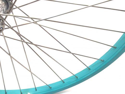 "26"" Celeste Beach Cruiser Wheel Set ""San Diego Bicycle Co"""