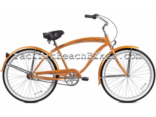 Saffron Men's NX3 3 Speed Rover Beach Cruiser Micargi Bicycles