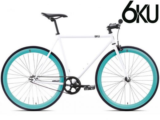 6ku Evian Fixed Gear Single Speed Fixie