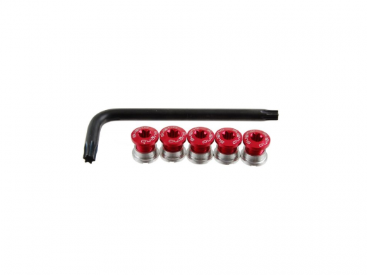 Sugino AL TORX Track Chainring Bolts Torx T30 Wrench Red