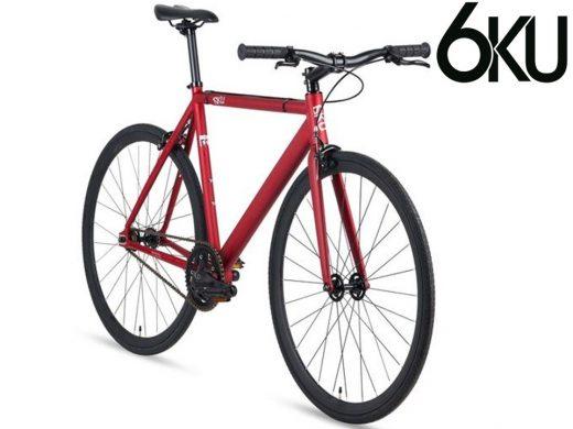 6KU Urban Track Matte Red