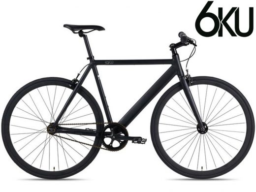 6KU Urban Track Matte Black