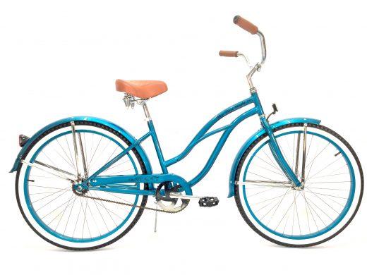 """Ladies Garnet - Turquoise """"San Diego Bicycle Co."""""""