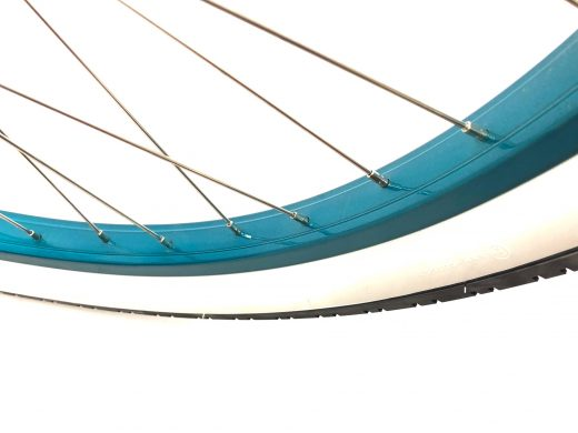 """Ladies Garnet - Pearl White w Oceanside Wanderlust Rims """"San Diego Bicycle Co."""""""