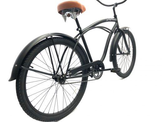 """Men's Garnet Matte Black w Brown """"San Diego Bicycle Co."""""""