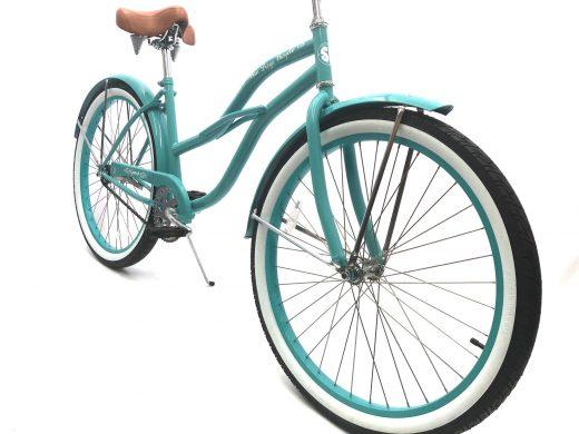 "Ladies Garnet - Celeste ""San Diego Bicycle Co."" Beach Cruiser"