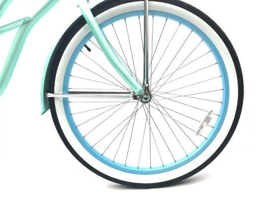 "Ladies Garnet - Sea Glass w Baby Blue ""San Diego Bicycle Co."""