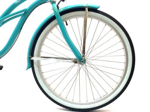 """Ladies Garnet 3 Speed Celeste """"San Diego Bicycle Co."""""""
