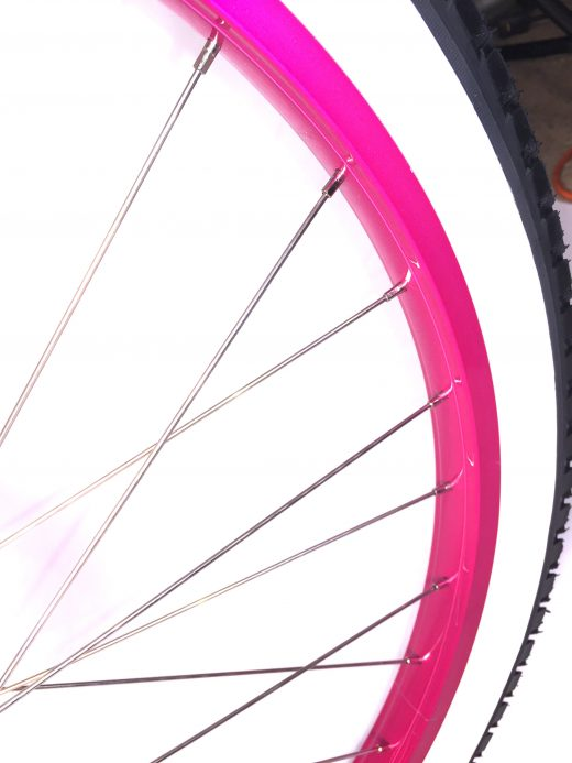 Hot Pink Wheel San Diego Bicycle Company Garnet