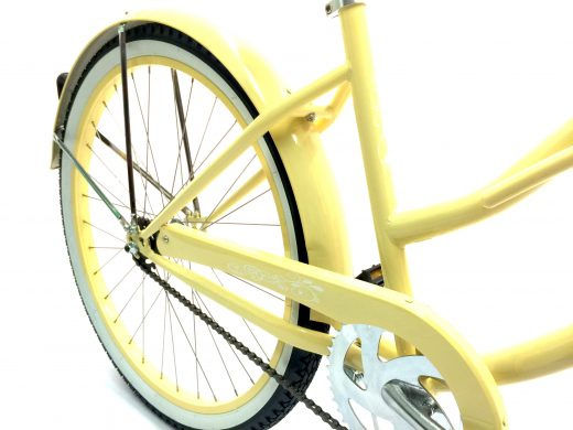"Women's Garnet - Vanilla ""San Diego Bicycle Co."" Beach Cruiser"