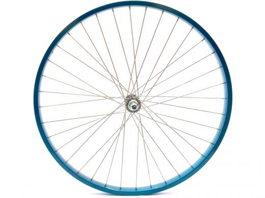 "26"" Turquoise Beach Cruiser Wheel Set ""San Diego Bicycle Co"""