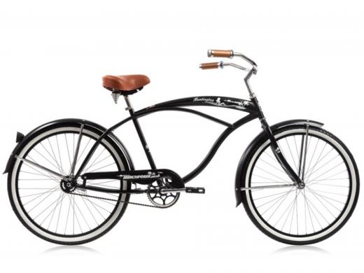 The Huntington Matte Black XL Frame Micargi Bicycles