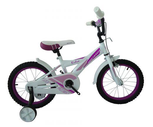"""16″ Kidco Girls Bike White """"Micargi Bicycles"""""""