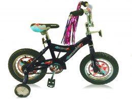 "12"" Kidco Boys Bike 1.0 Black ""Micargi Bicycles"""