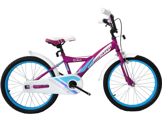 "20″ Kidco Girls Bike Purple ""Micargi Bicycles"""