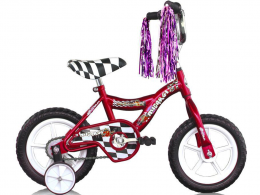 "12"" MBR Boys Bike Red ""Micargi Bicycles"""