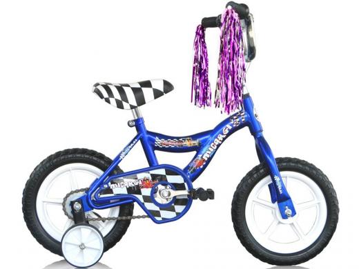 "12"" MBR Boys Bike Blue ""Micargi Bicycles"""