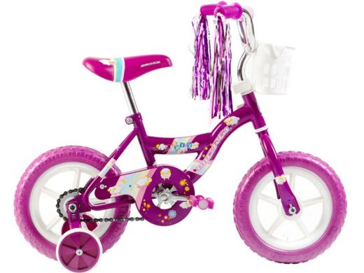 "12"" MBR Girls Bike Purple ""Micargi Bicycles"""