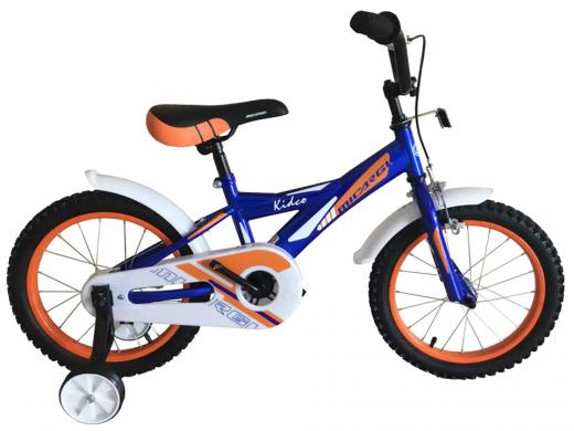 "16″ Kidco Boys Bike Blue ""Micargi Bicycles"""