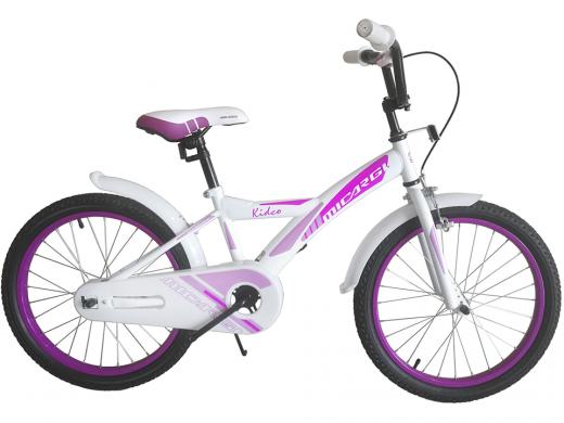 """20″ Kidco Girls Bike White """"Micargi Bicycles"""""""