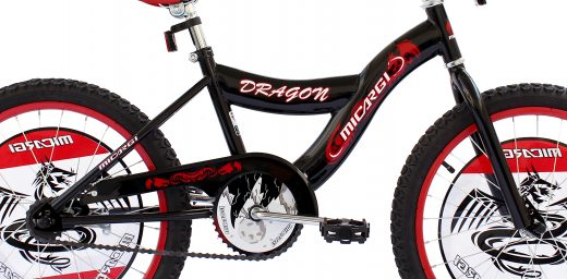 "Boys 20"" Dragon Bike Black ""Micargi Bicycles"""