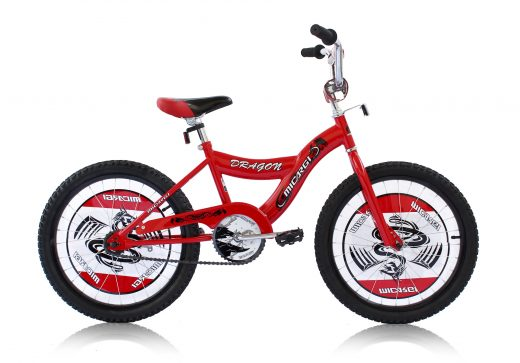 "Boys 20"" Dragon Bike Red ""Micargi Bicycles"""