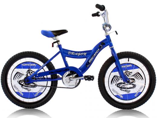"""Boys 20"""" Dragon Bike Blue """"Micargi Bicycles"""""""