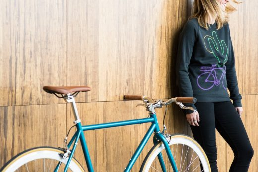 """Beorn - Core-Line Classic Teal and Chrome """"Sate Bicycle Co."""" Beorn - Core-Line Classic Teal and Chrome """"Sate Bicycle Co."""""""