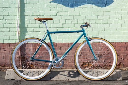 """Beorn - Core-Line Classic Teal and Chrome """"Sate Bicycle Co."""""""