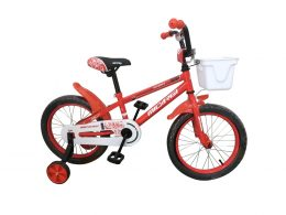 "16″ Jakster Boys Bike Red ""Micargi Bicycles"""