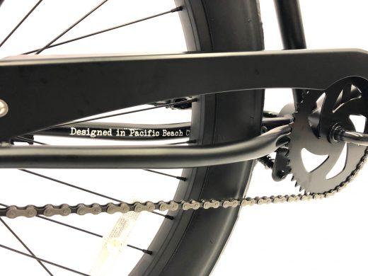 "Fat Tire 3.0 - Matte Black ""San Diego Bicycle Co."""