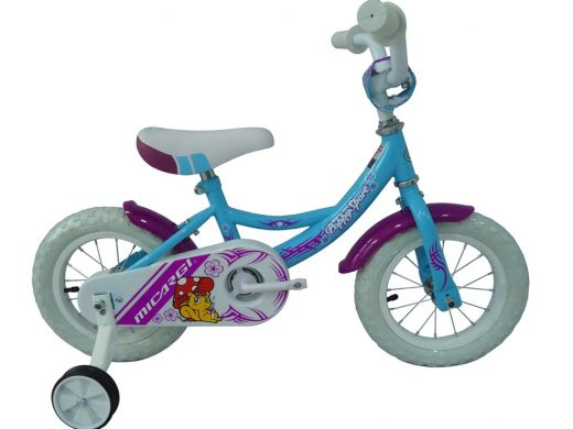 "Poppy Sport 12"" Baby Blue Kids Bicycle"