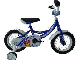 """Poppy Sport 12"""" Blue Kids Bicycle"""