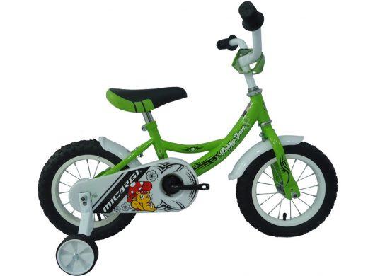 "Poppy Sport 12"" Green Kids Bicycle"